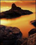 Ecola Nuclear Sunset