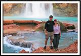 Posing at Havasu Falls