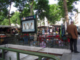 Metro entrance at Place Monge