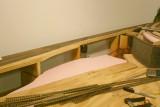 Industry foam bed in place