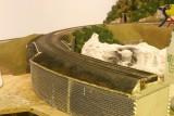 Conrail gray ballast in place