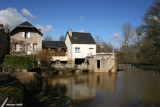 La Roche-Posay - Maisons sur la Creuse
