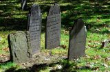 old headstones in Salem
