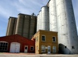 buildings and silo