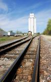 rail and silos