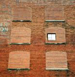 brick hallways