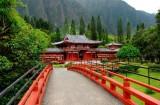 bridge to byodo temple