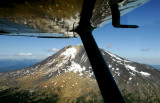 Wing over Mt Adams