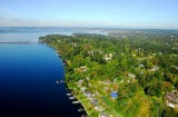 fall over Lake Washington
