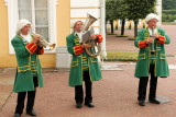 Welcoming Musicians at Peterhof Palace