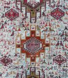 Close-up of an Azeri carpet