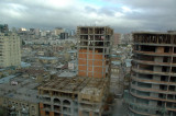 View from my hotel window - construction and more construction