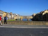 Later. Ponte Vecchio from Ponte Santa Trinita this time
