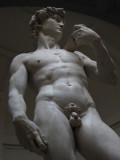 Michelangelo's David: amazingly life-like.