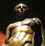 In a Vatican room of sculptures, Hercules (Heracles) of the Theater of PompeyHercules Righetti