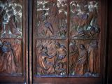 Siena Cathedral doors (19th C.)