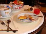 Home baked European breakfast