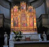 The triptych, 1401, by Taddeo di Bartoldo