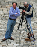 From tower, zoomed to serious-duty tripod users with ladder