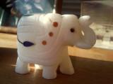 Macro shot w/o flash. Elephant's  5x smaller than this.