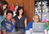 Jennifer, Bruce, BJ and Uncle Ben