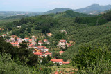 On the way from Lucca to Massa-Carrara