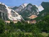 Carrara photos - Fantiscritti Quarry, Michelangelo's marble source