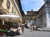 Cafe by Church of San Michele