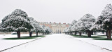 MC #117 Local Attraction - Hampton Court in Fresh Snow by Paul Winstone