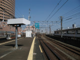 Rail lines at Hamamatsu station