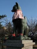 Oinari-san statue