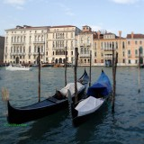 two gondolas
