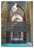 Inside the Sultan Hassan Mosque III