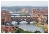 Five Bridges over the Arno