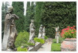 Statues and a Sundial