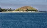 Arriving at Mana Island