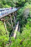 The bridge and pipeline