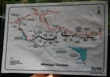Waitakeres MAP of our Train Journey