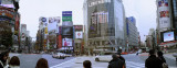Shibuya - Hachiko Crossing Panorama