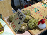 Snake Alley Market - Durians!