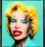 Amanda As Andy Warhol's Marilyn, 2002