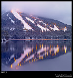 Ski resort's evening