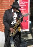 Downtown Sax Man