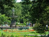 Halifax Public Gardens before Hurricane Juan