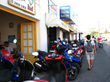 motos for rent are everywhere!  we wanted one but didnt have an internat'l driving license.