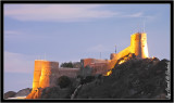 Mirani Fort in Muscat during sunset