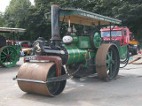 Green Steam Roller