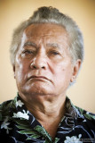 Aliki Faipule Kolouei O'Brien, the head of state of the island group Tokelau