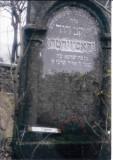 Yakov David GROSZWITH son of (honorific) Shraga Died - 5 Iyar 5657 (7 May 1897)