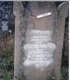 (MARGARETTEN, MARGARETEN,MARGCZETHEN, MARGITA, MARGITTA) May the memory of the righteous be for blessing* For eternal memory For one of our members HaRav R' Moshe MARGARETTEN Of blessed and (saintly) pious memory was erected by Chevrah Kadisha (burial society) for the Holy Community of Hataresh ….  (The last 3 lines refer to Moses and the 10 Commandments) Al Giv'at HaMore = On the Teacher's Hill ?p? ha'Aron u?Shnei Luchot haAvanin .. the cabinet (also coffin, ark) and these two stone tablets  * The honorific May the memory of the righteous be for blessing is used after the names of holy rabbis and other saintly people. http://en.wikipedia.org/wiki/Honorifics_for_the_dead_in_Judaism